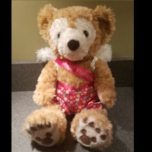 DUFFY THE DISNEY BEAR - BE MY VALENTINE - 12 INCH